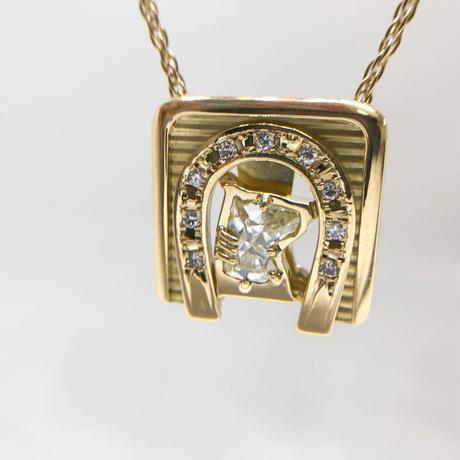 ゴールド ダイヤモンド ネックレス