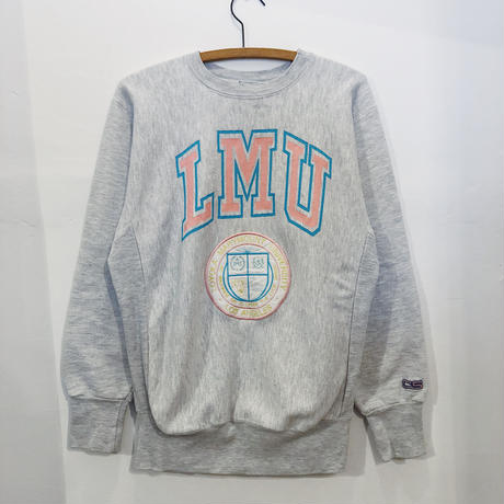 90's  College Print  Sweat  Shirt