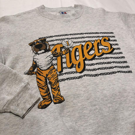 90's  RUSSELL ATHLETIC  Tigers Sweat Shirt