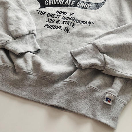 90's RUSSELL CHOCOLATE SHOP  Sweatshirt