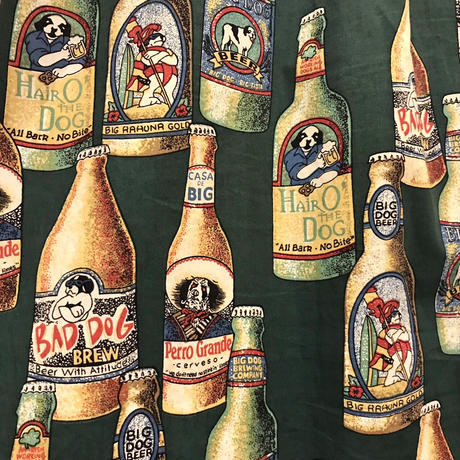 BIG DOGS  Beer Botle Pattern S/S  Shirt