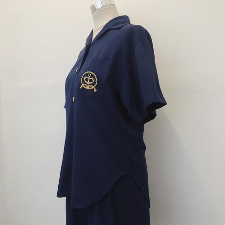 Marine Shirt & Short Pants SET