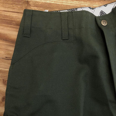 DEADSTOCK   BEN DAVIS    WORK PANTS  Olive  MADE IN USA