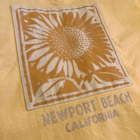 90's NEWPORT BEACH CALIFORNIA Half Zip Tops