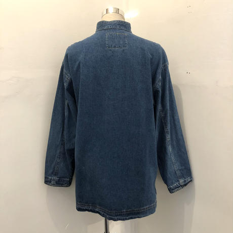 Denim China Shirt