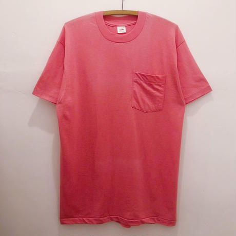 80's DEADSTOCK  FRUIT OF THE LOOM  POCKET Tee
