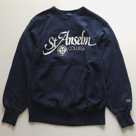 90's St Anselm College Champion  REVERSE WEAVE