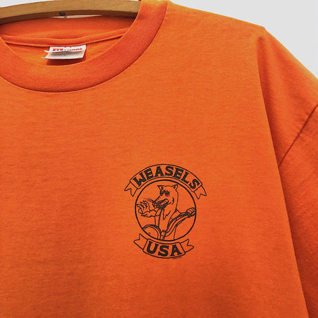 90's  WEASELS  USA  Motercycle Club  Tee