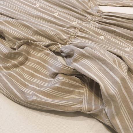 COTTON SHIRT LONG DRESS