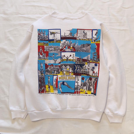 90's ONEITA  MUSCLE BEACH  Sweat Shirt