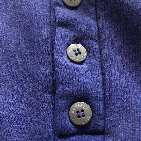 90's RUSSELL ATHLETIC Henry neck Hoodie