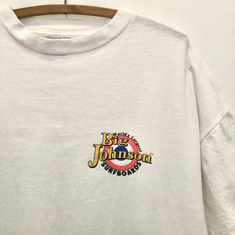 90's Big Johnson  Back Print Tee  SURFBOADS