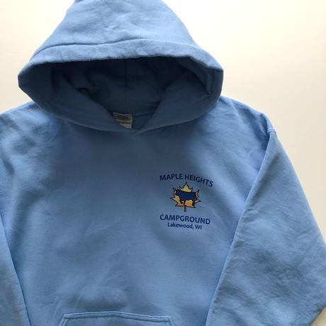 Maple Heights Campground Back Print  SWEAT HOODIE