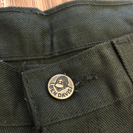 DEADSTOCK   BEN DAVIS    WORK PANTS 615  MADE IN USA