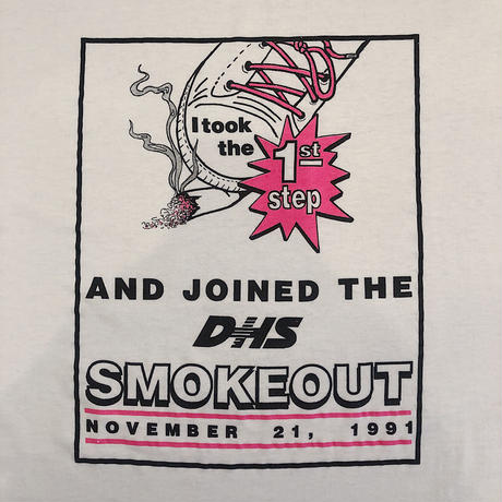 90's  SMOKEOUT DAY  Tee