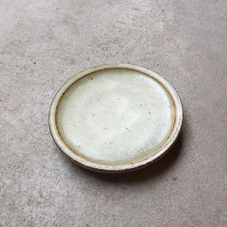 しずく窯 / 高山 ソーサー(黒/白)