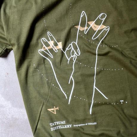 辰巳蒸留所 / 郡上八幡 オリジナルTシャツ4th シティグリーン