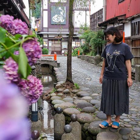 辰巳蒸留所 / 郡上八幡 オリジナルTシャツ4th ダークヘザーネイビー