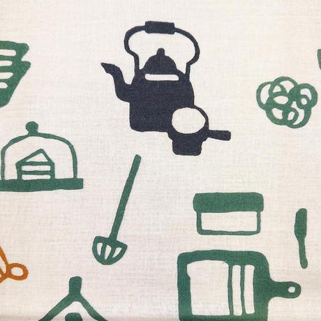戸田屋商店・梨園染手ぬぐい              「キッチン」