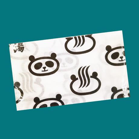 パンダ銭湯手ぬぐい