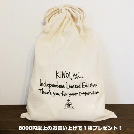 KINOI,INC. 独立記念Tシャツ(White/5サイズ)