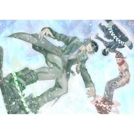 <配信>The Mirraz 12th Full Album『Saturation.Now』★KINOSK配信限定特典・真鍋陽&畠山承平 書き下ろしスペシャルデジタルジャケット4枚付き