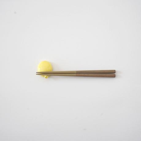 黒田理恵・ふうせん箸置き /黄色