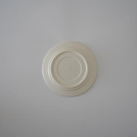 CANASA・白貫入釉ケーキ皿