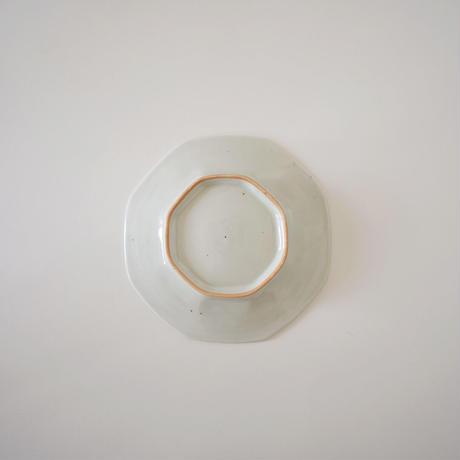林健二・青白磁八角皿