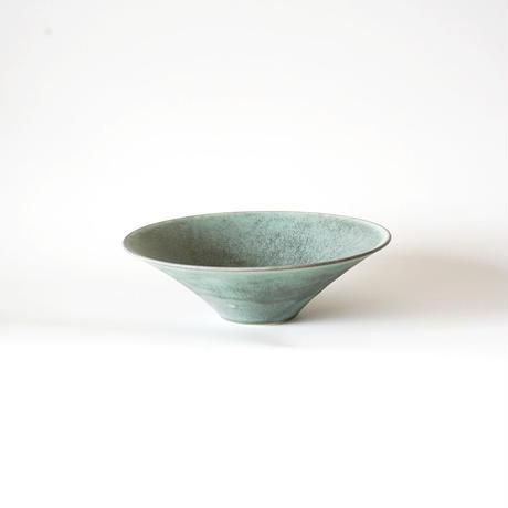 和田山真央・朝顔鉢/微細結晶 緑(L)