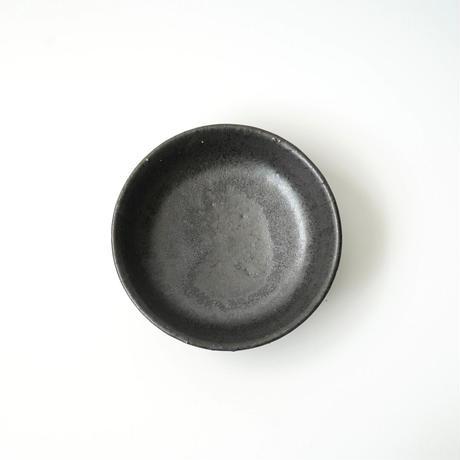 阿久津真希・小鉢皿(黒)