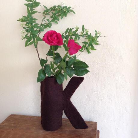 花瓶カバー「K」