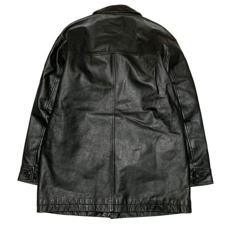 GAP LEATHER JACKET size L