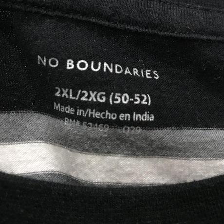 NO BOUNDARIES L/s Tee Size-XXL