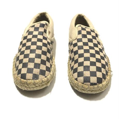 VANS Hemp Slip-On Checkerboard Size-24.5cm