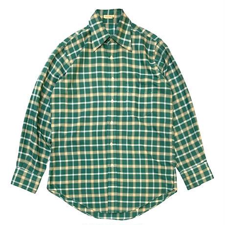 60's〜 ONE POCKET CHECK SHIRT size M程