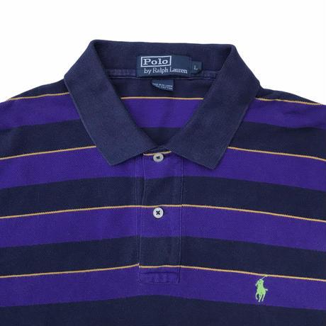 Polo Ralph Lauren Striped Polo Shirts Size-L