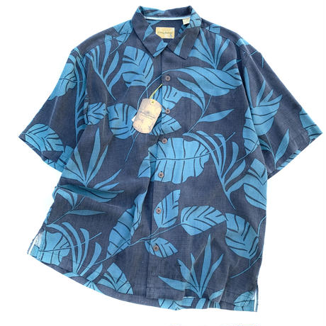 NEW TOMMY BAHAMA SILK ALOHA SHIRT size L