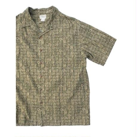 L.L.Bean Short Sleeve Shirt SIZE-L