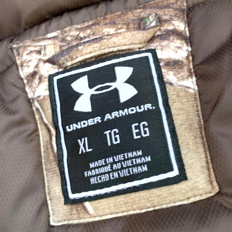 NEW UNDER ARMOUR PRIMALOFT DOWN JACKET size XL