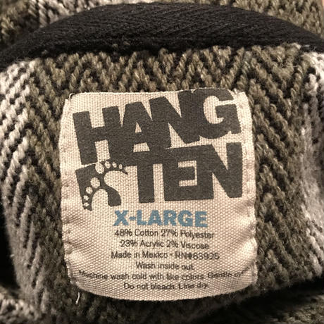 HANG TEN👣  Mexican Hoodie Size-XL