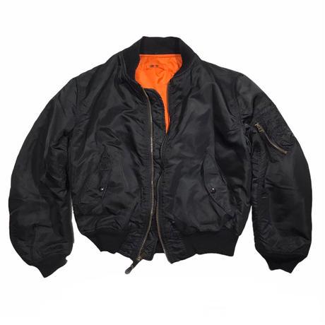 ALPHA INDUSTRIES Black MA-1 Jkt Size-L 90s~