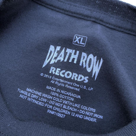 NEW DEATH ROW RECORDS T-SHIRT size XL