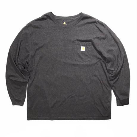 "Carhartt L/s Tee Size-XXL "" Dark gray"" ""Gray"""