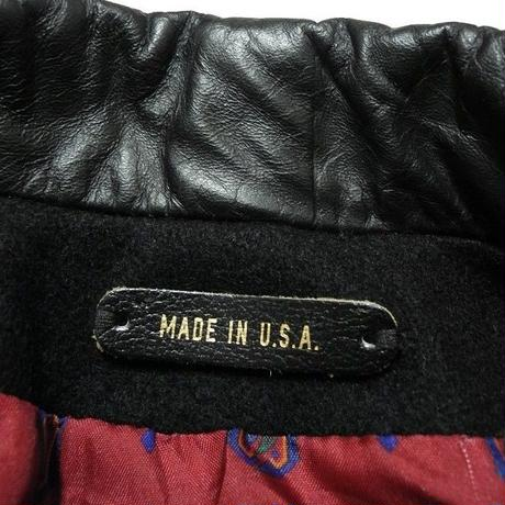 double breasted coat  made in usa M程