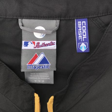 MLB PIRATES⚾️ Pullover Light Jkt Size-XL程 majestic 2011'