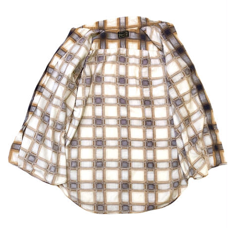 70's〜 PRINT NEL SHIRT size XL