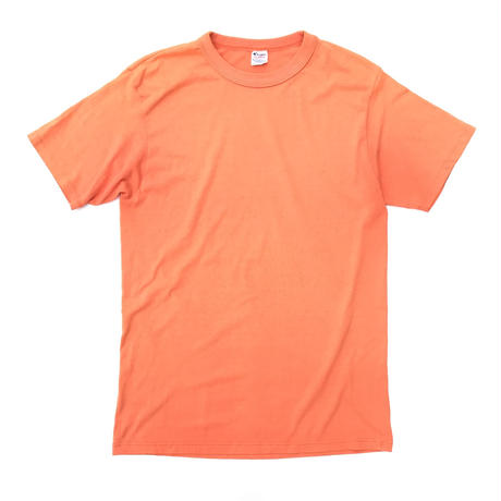 Champion  Orange🍊 T-shirt Size-XL 80s