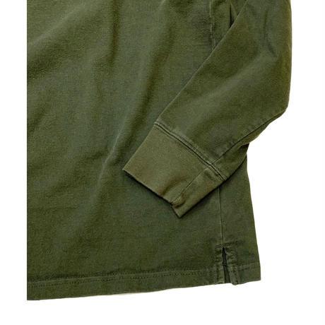 BORDER HENLY NECK L/S T-SHIRT sizeXL