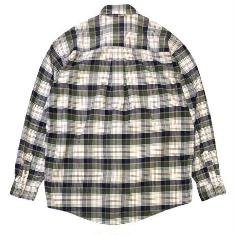 00's EDDIEBAUER NEL SHIRT size L〜XL程